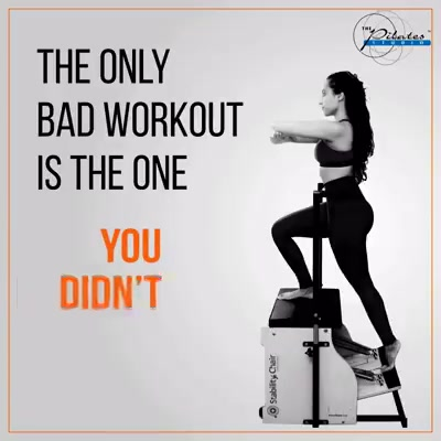 If you didn't, then its about time to go and workout at The Pilates Studio - Ahmedabad ;)  Contact us for queries on: 9099433422/07940040991 www.pilatesaltitude.com
